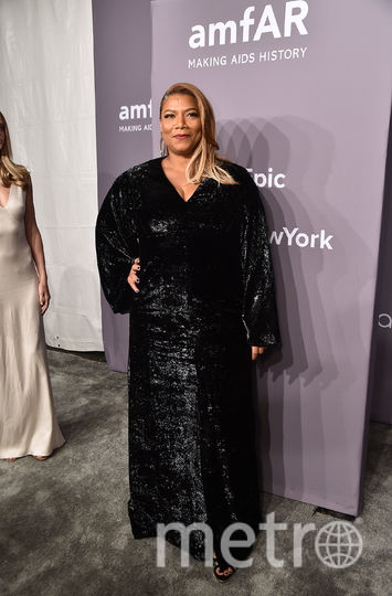amfAR Gala-2018 в Нью-Йорке. Квин Латифа. Фото Getty