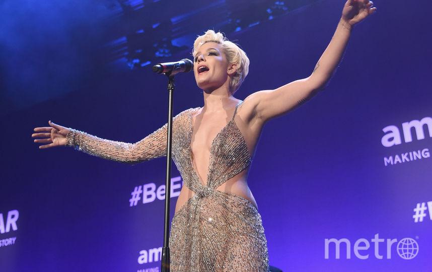 amfAR Gala-2018 в Нью-Йорке. Холзи. Фото Getty