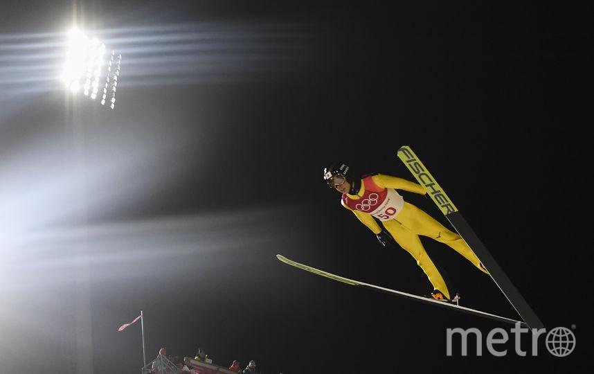Прыжки на лыжах с трамплина. Фото AFP