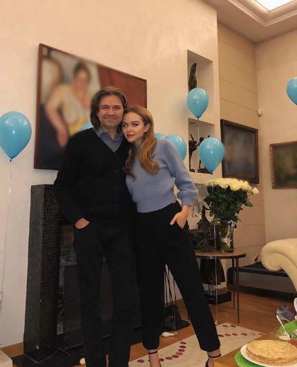 Дмитрий Маликов с дочерью Стефанией. Фото www.instagram.com/steshamalikova