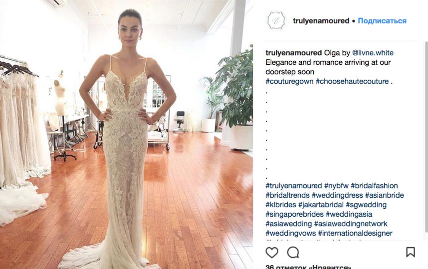 """""""Голые"""" свадебные платья: Новый тренд завоевывает Instagram. Фото Скриншот Instagram: @trulyenamoured"""