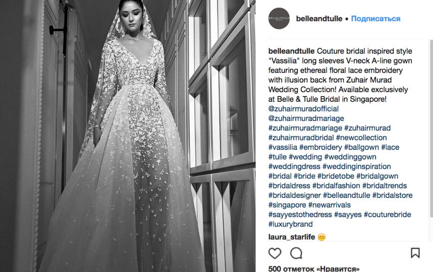 """""""Голые"""" свадебные платья: Новый тренд завоевывает Instagram. Фото Скриншот Instagram: @belleandtulle"""