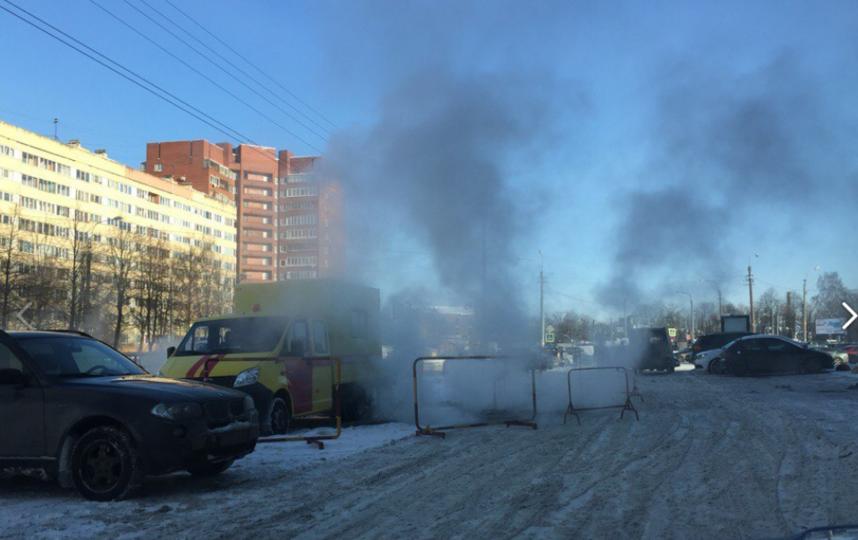 Авария на Стачек, 99. Фото Мария Данцева.