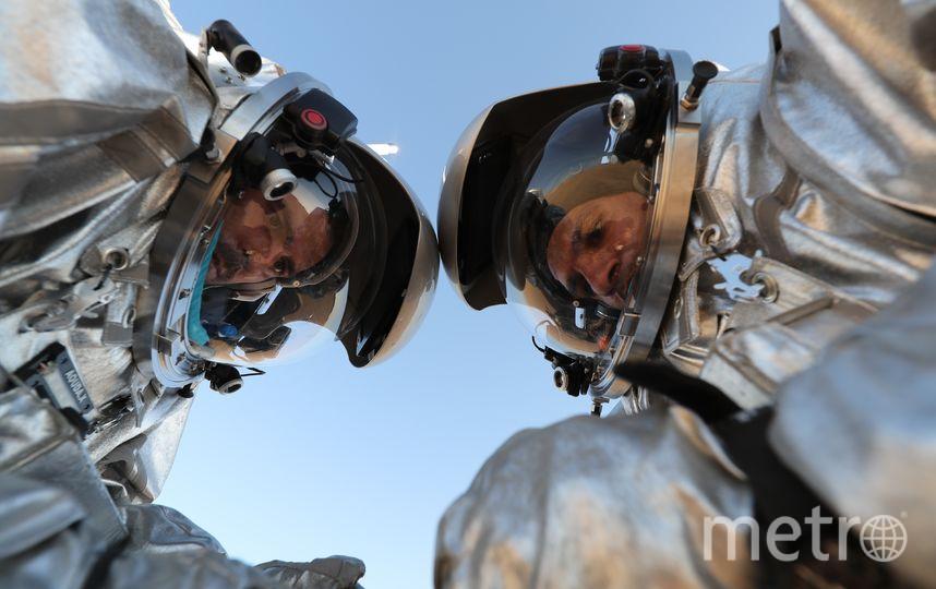 AMADEE-18. Фото AFP