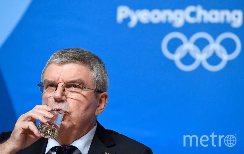 Президент МОК Томас Бах. Фото AFP
