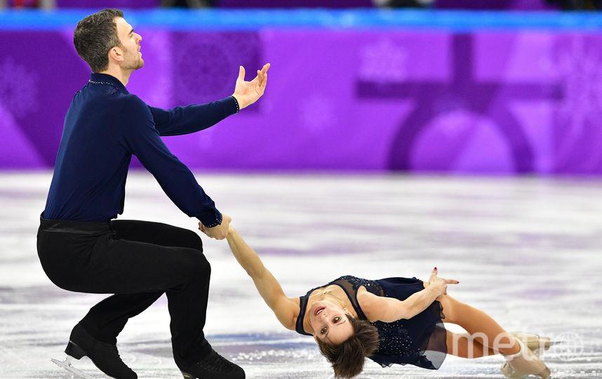 Канадцы Эри Рэдфорд и Меган Дюамель. Фото AFP