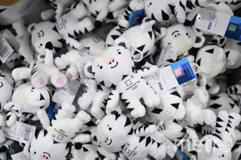 Символ Олимпиады-2018 – белый бенгальский тигрёнок по имени Сухоран. Фото AFP