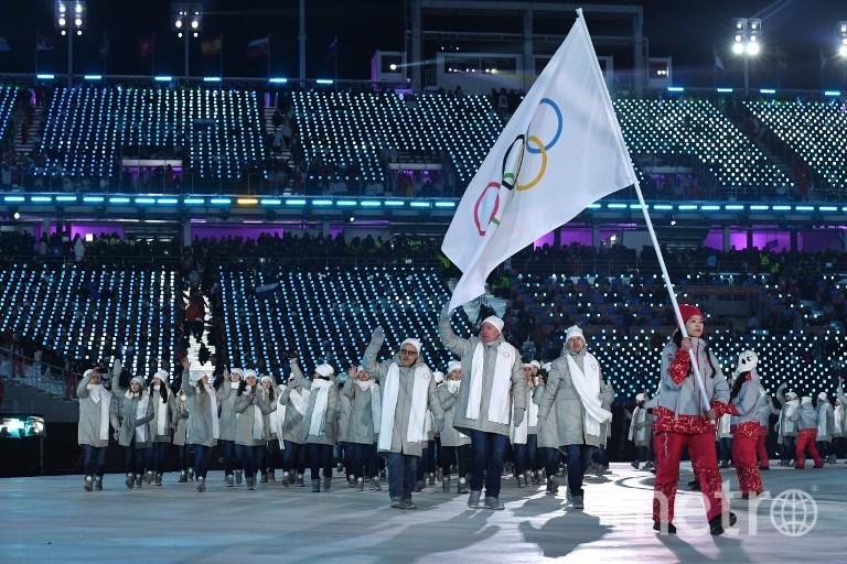 Олимпийская сборная России. Фото AFP