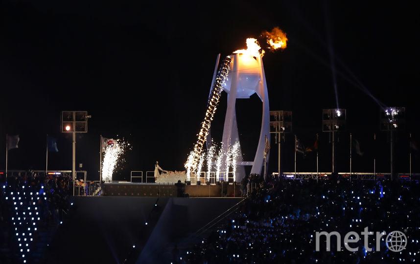 Церемония зажжения олимпийского огня. Фото Getty