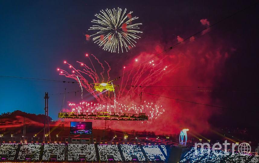 Игры в Корее официально стартовали. Олимпийский огонь зажжён. Фото AFP