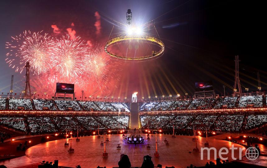 Церемония открытия Зимних Олимпийских игр-2018. Фото Getty