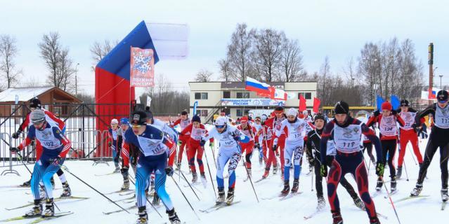 Лыжня России.