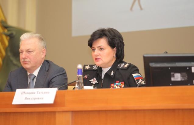Татьяна Шевцова, замминстра обороны РФ. Фото www.unecon.ru