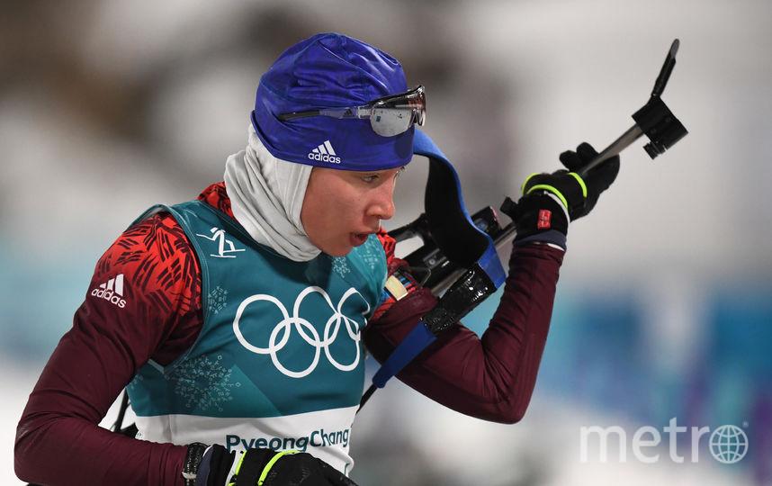 Биатлонистка Ульяна Кайшева не попала в двадцатку. Фото AFP