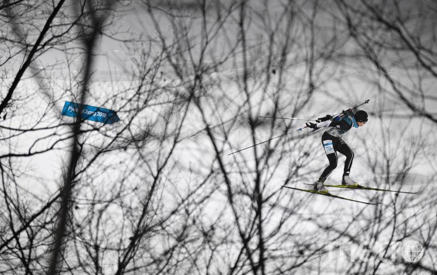 Биатлонная трасса. Фото AFP