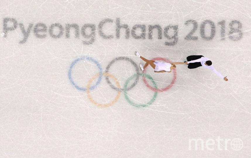 Наталья Забияко и Александр Энберт, выступление на Олимпийских играх. Фото Getty