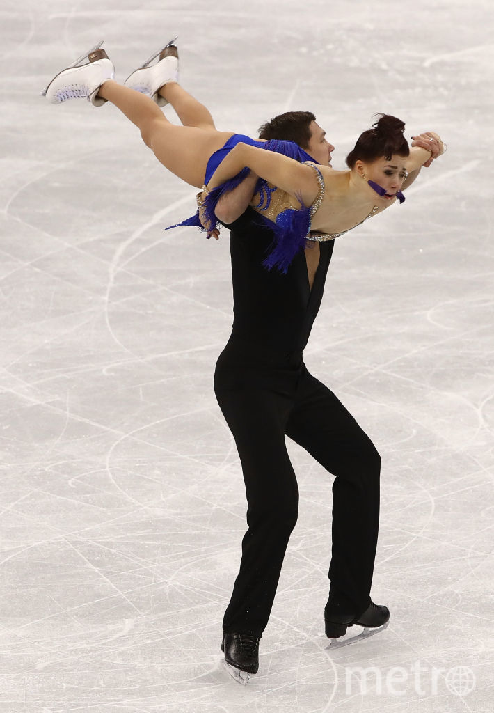 Екатерина Боброва и Дмитрий Соловьев, выступление на Олимпийских играх. Фото Getty