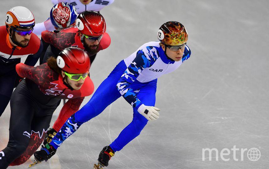 Соревнования по шорт-треку. Фото AFP