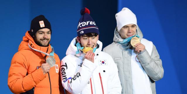 Шинки Кнегту, Лим Хё Джуно и Семён Елистратов.