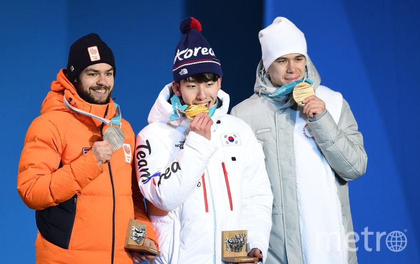 Шинки Кнегту, Лим Хё Джуно и Семён Елистратов. Фото AFP