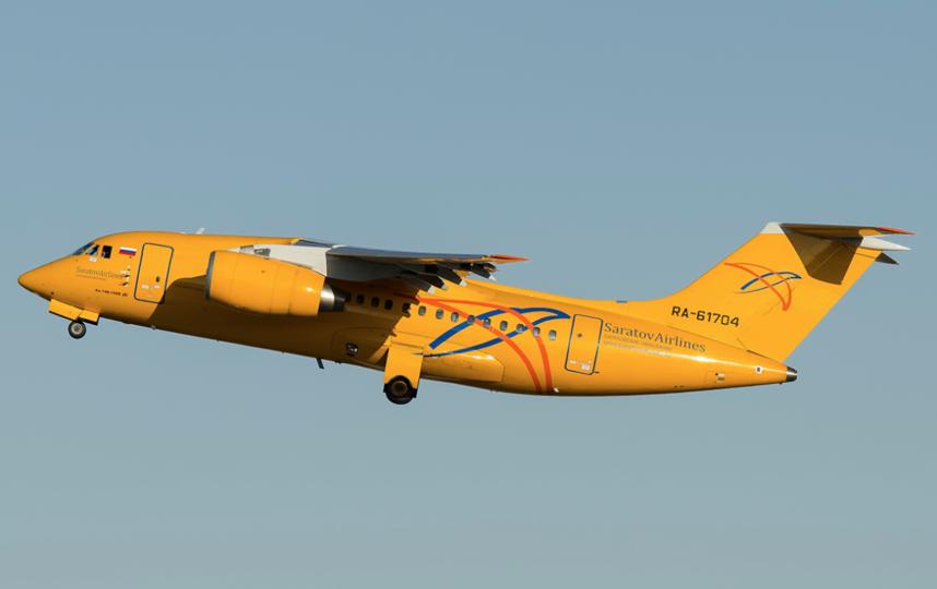Ан-148, потерпевший крушение. Фото Скриншот с jetphotos.com.