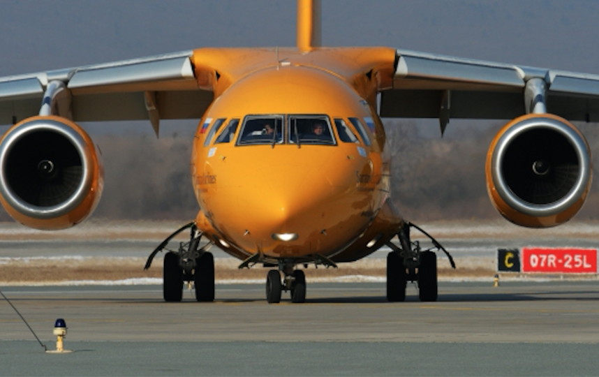 Ан-148, потерпевший крушение. Фото РИА Новости