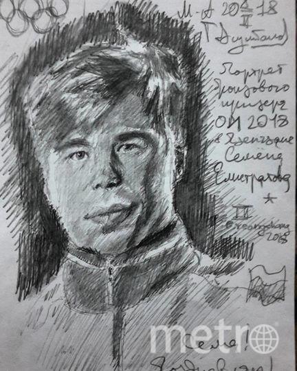 Портрет Елистратова должен стать первым в цикле. Фото instagram.com/m_a_t_o_v_s_u_l_t_a_n_o_v_1999