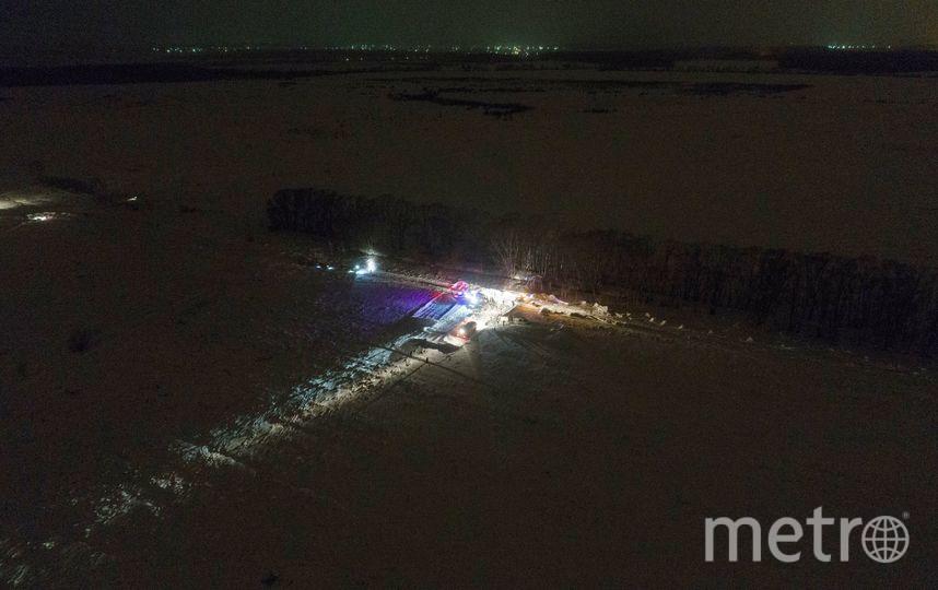 АН-148 потерпел крушение в районе деревни Аргуново. Фото AFP