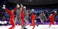 Вторая медаль России: фигуристы завоевали серебро в командном турнире