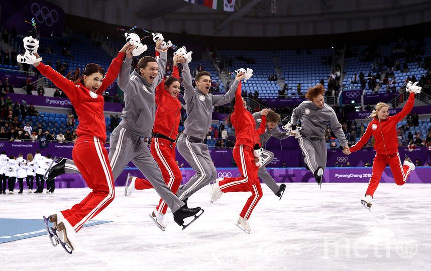Россия досрочно завоевала вторую медаль Олимпиады в Пхенчхане. Фото Getty