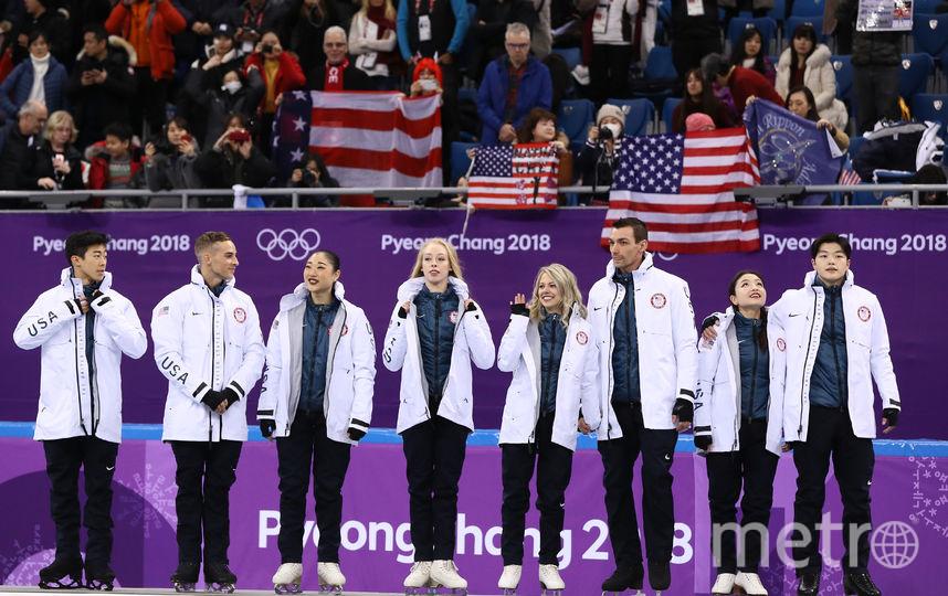 Американцы на третьем месте. Фото Getty
