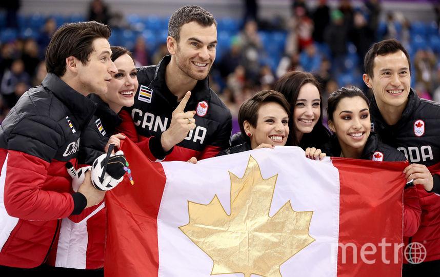 Канадцы первые. Фото Getty