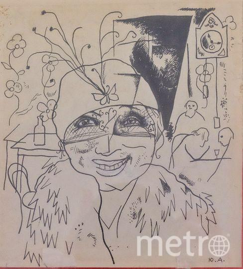 Первый рисунок Юрия Анненкова Блок забраковал.