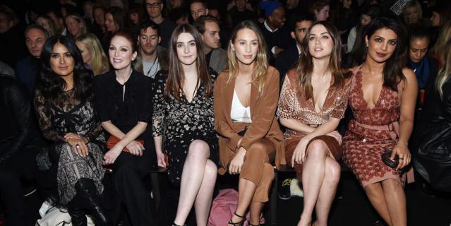 Неделя моды в Нью-Йорке собрала звезд.
