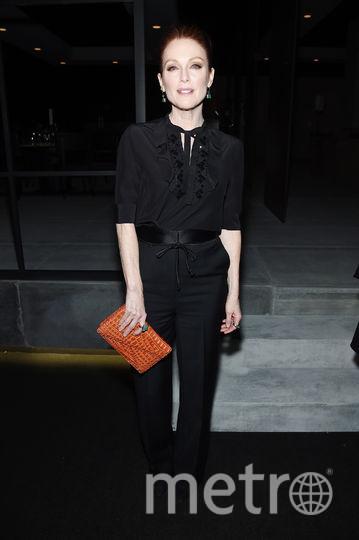 Неделя моды в Нью-Йорке собрала звезд. Джулианна Мур. Фото Getty