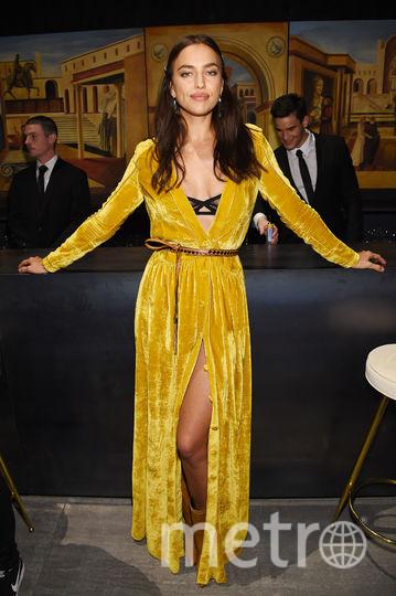 Неделя моды в Нью-Йорке собрала звезд. Ирина Шейк на показе Bottega Veneta. Фото Getty
