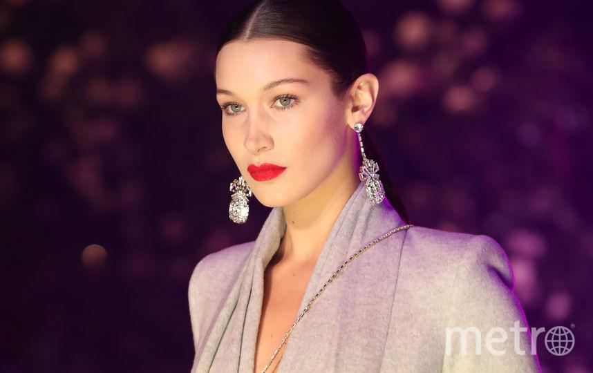 Неделя моды в Нью-Йорке собрала звезд. Белла Хадид. Фото Getty