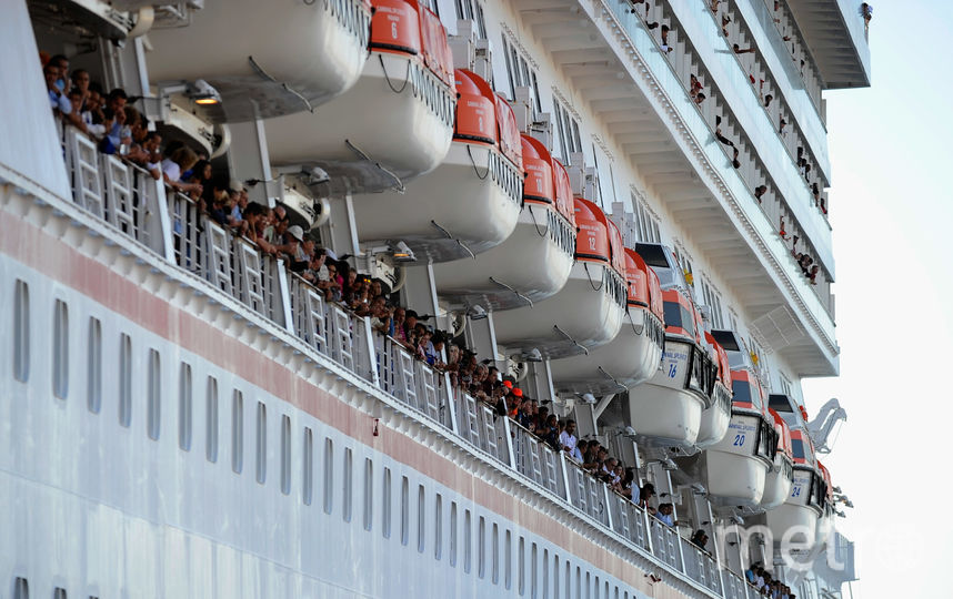 Круизный лайнер. Фото Getty