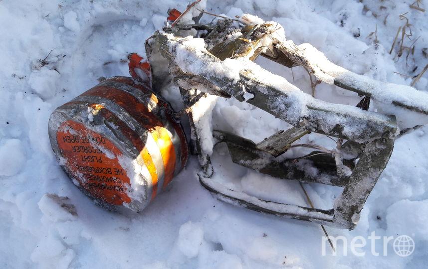 Опубликовано фото одного из найденных бортовых самописцев Ан-148. Фото mak-iac.org/