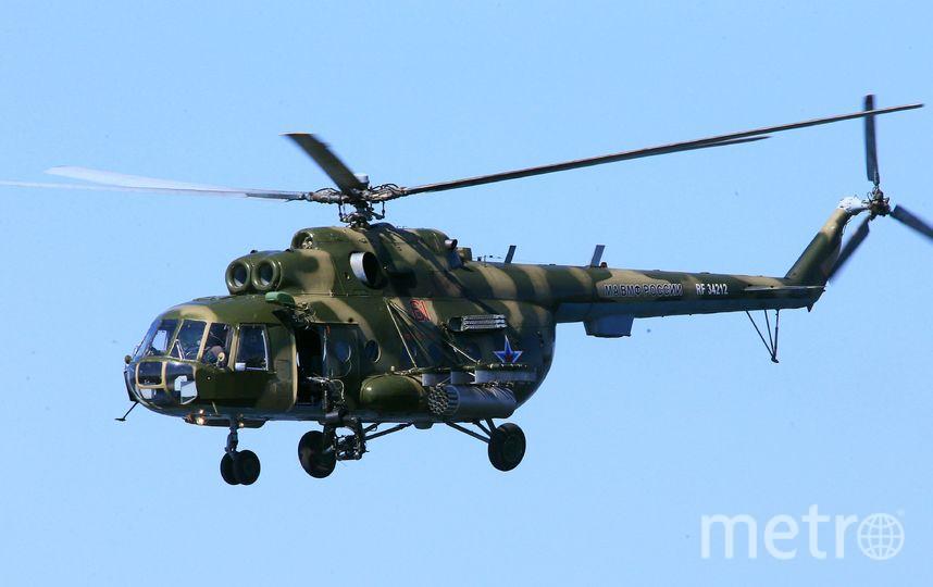 Под Стрежевым вертолет зажегся  после жесткой посадки
