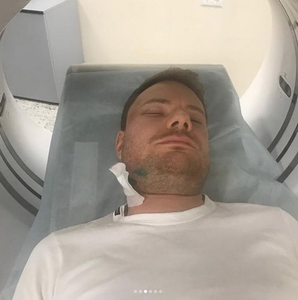 DJ Smash в больнице. Фото www.instagram.com/timatiofficial