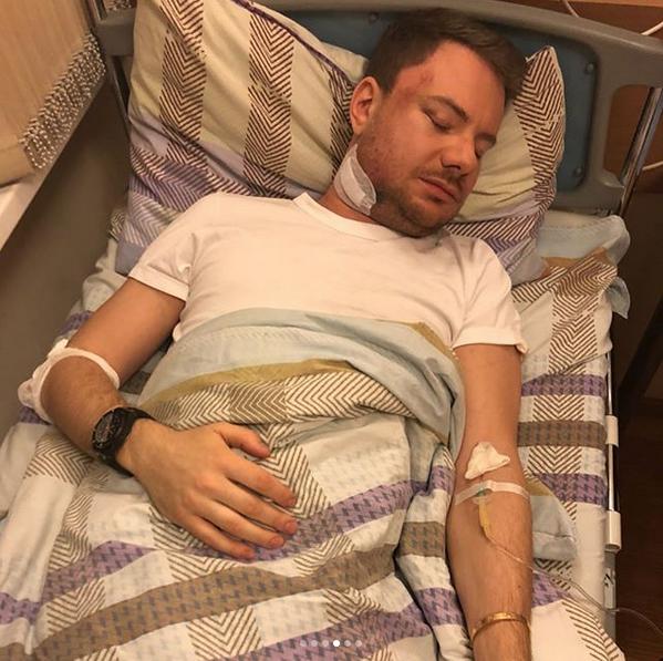 DJ Smash с больнице. Фото www.instagram.com/timatiofficial