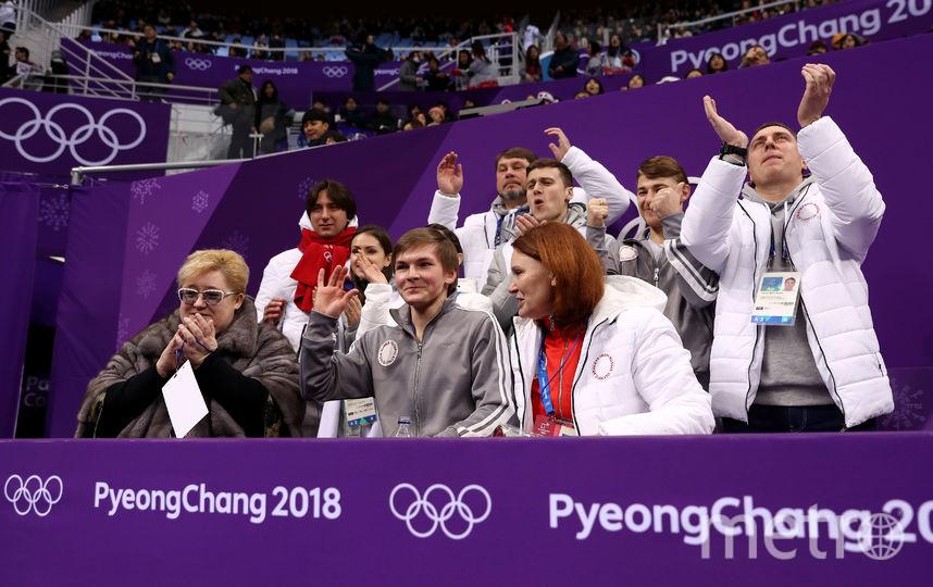 Член сборной России по фигурному катанию Михаил Коляда. Фото Getty
