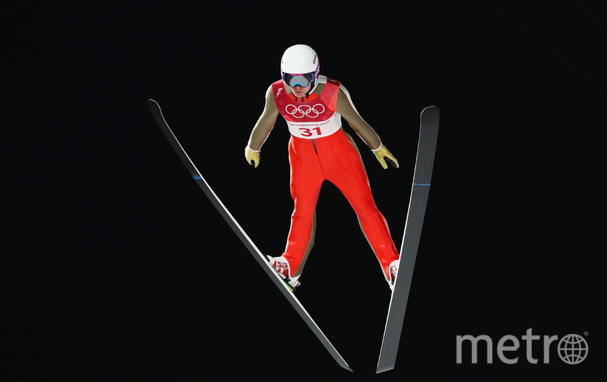 Российская прыгунья с трамплина Ирина Аввакумова. Фото Getty
