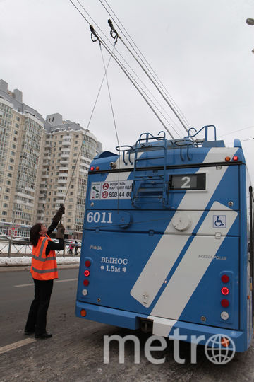 Электробус в Петербурге. Фото Святослав Акимов