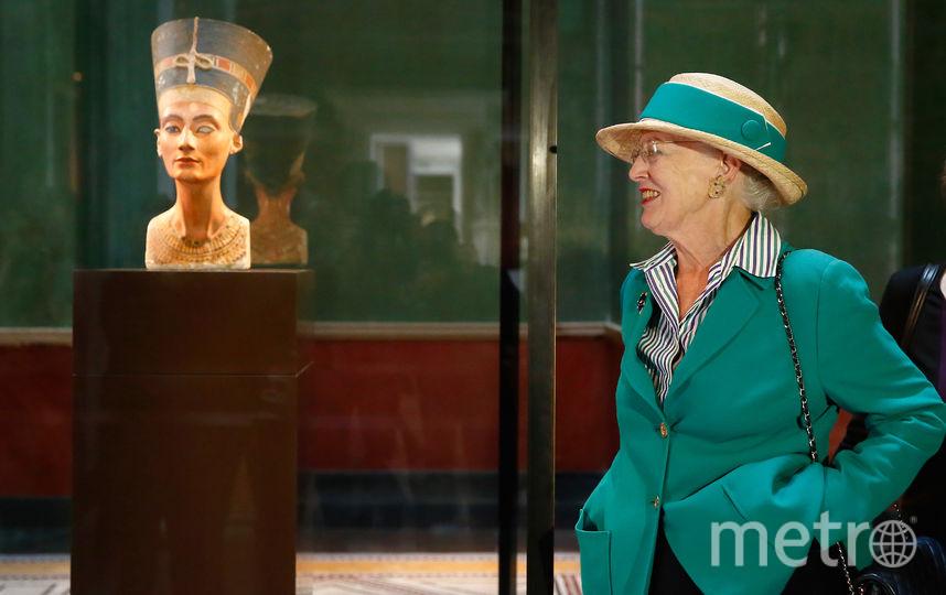 Бюст Нефертити в Берлинском Новом музее. Фото Getty