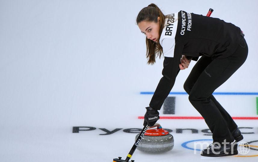 Анастасия Брызгалова. Фото AFP