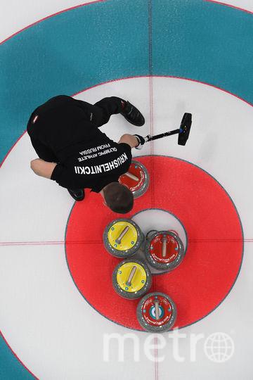 Александр Крушельницкий в матче за 3 место. Фото AFP