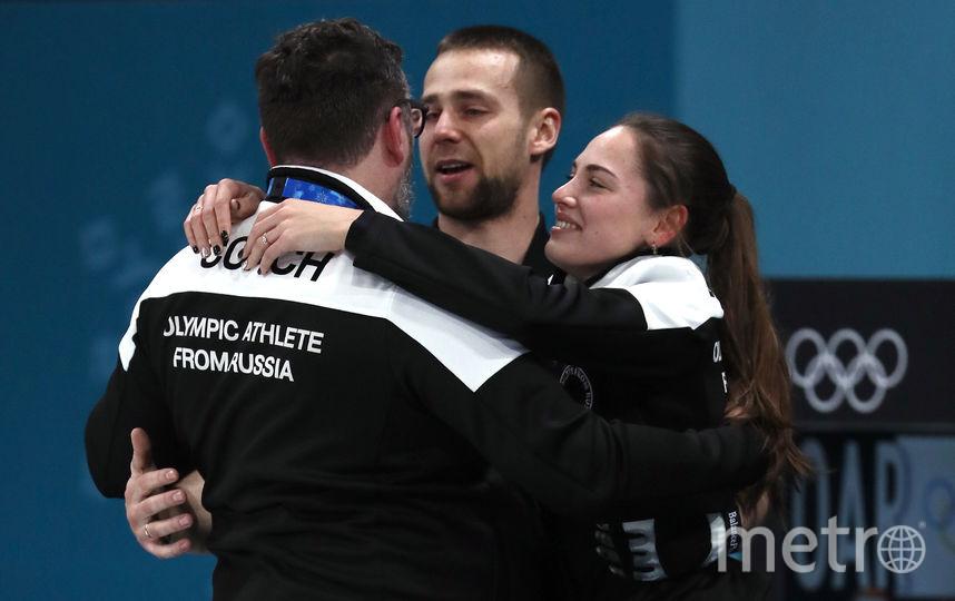 Анастасия Брызгалова на  Олимпиаде. Фото Getty