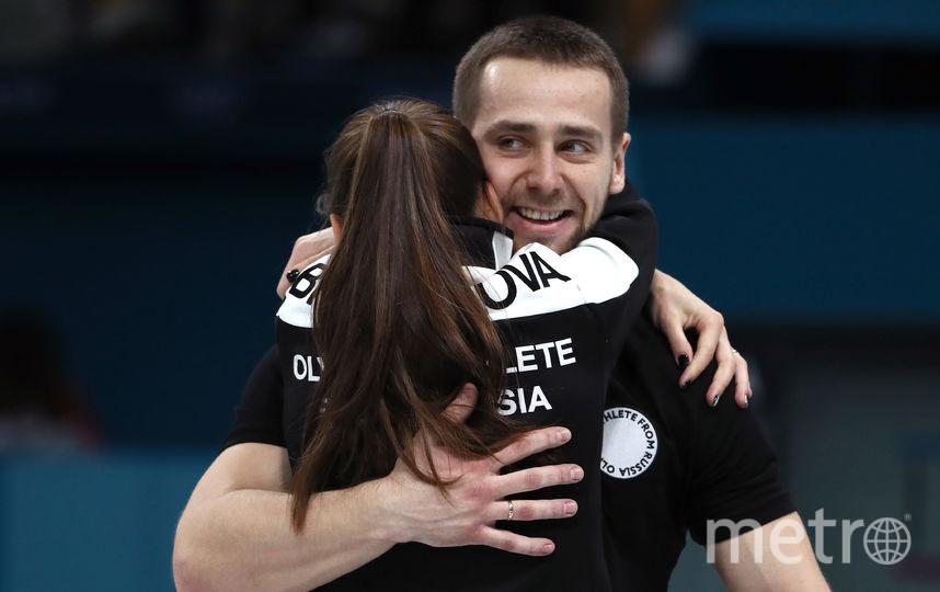 Керлинг на Олимпиаде. Фото Getty